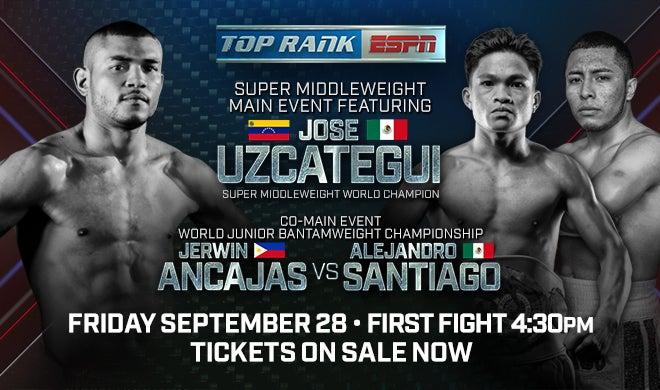 Jerwin Ancajas vs. Alejandro Santiago