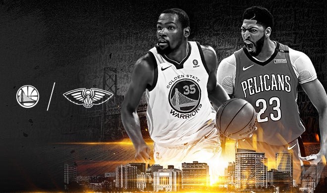 Round 2, Game 1: Warriors vs  Pelicans | Oracle Arena and