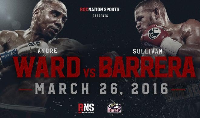 Andre Ward vs. Sullivan Barrera