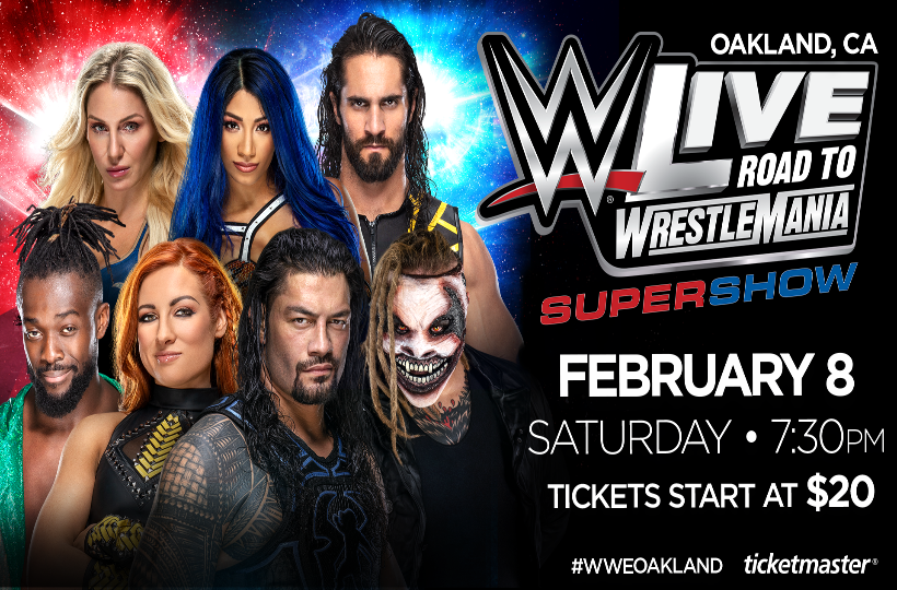 More Info for WWE Live Road to Wrestlemania Super Show
