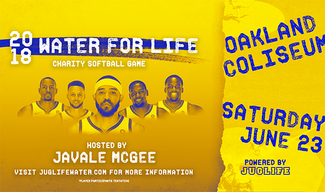 Water For Life Charity Softball Game: Hosted by JaVale McGee