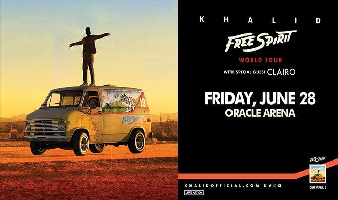 Khalid Free Spirit World Tour