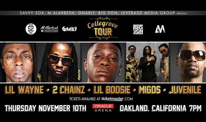Lil Wayne & 2 Chainz: Collegrove Tour | Oakland Arena and