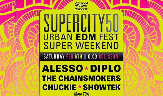 Super City 50 Urban EDM Festival
