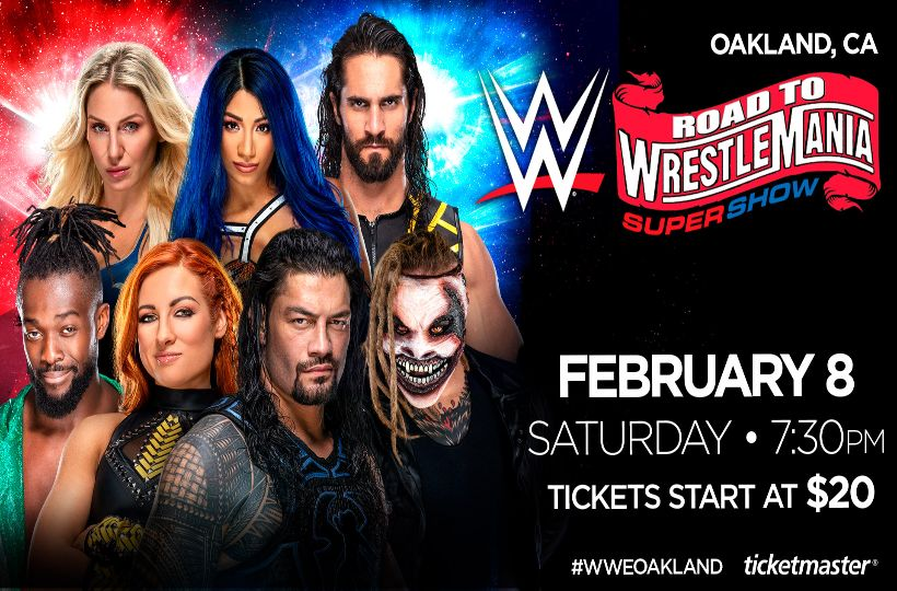 WWE Live Road to Wrestlemania Super Show